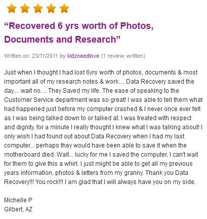 Michelle P review