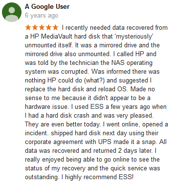 A Google user 01 review