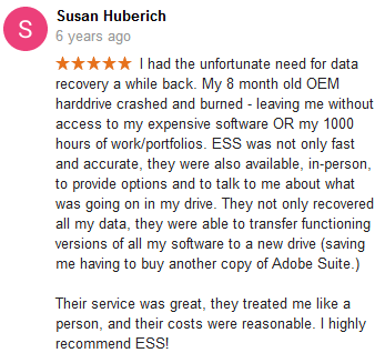 Susan Huberich review