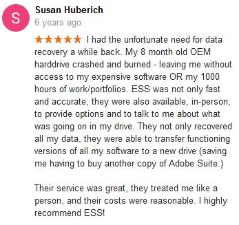 Susan Huberich review