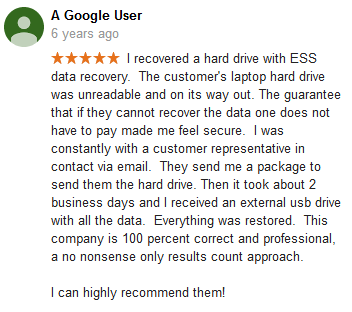 A Google user 03 review