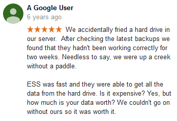 A Google user 10 review