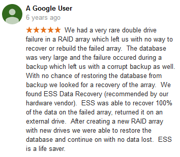A Google user 23 review