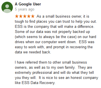 A Google user 35 review