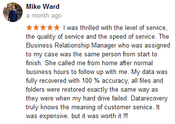 Mike Ward review