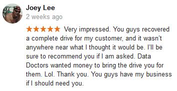 Joey Lee review