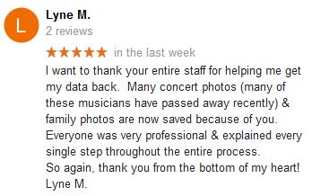 Lyne M. review