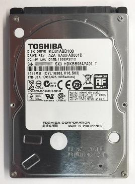 Toshiba 1TB laptop drive