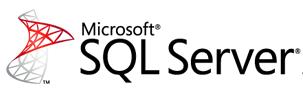 logo for Microsoft SQL Server database software