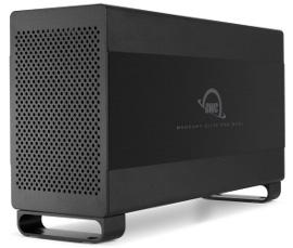 OWC Elite Pro Dual data storage unit, black