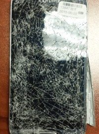 Broken Samsung cell phone