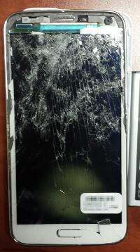 Broken Cell Phone Samsung