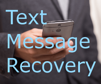 Text Message Data Recovery