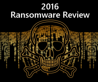 2016 Ransomware Review graphic
