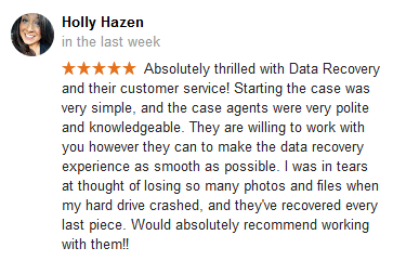 Holly Hazen Google review