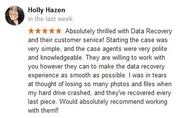 Holly Hazen Google review