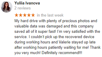 Yuliia Ivanova review