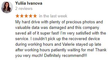 Yuliia Ivanova review