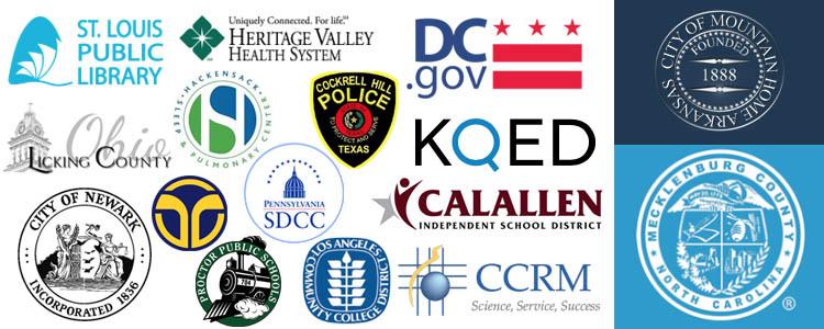 ransomware victims organizations 2017 logos