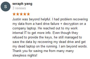 Seraph Yang review