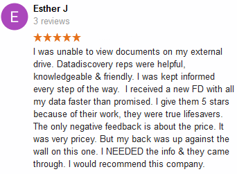 Esther J review