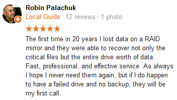 Robin Palachuk review