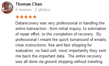 Thomas Chan review