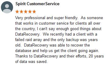 Spirit CustomerService review