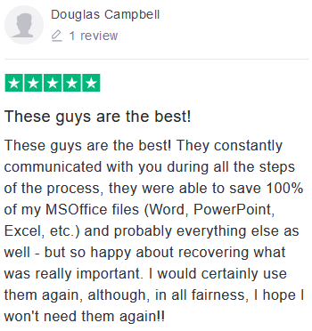 Douglas Campbell review