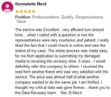 Bernadette Meck review