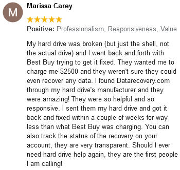 Marissa Carey review
