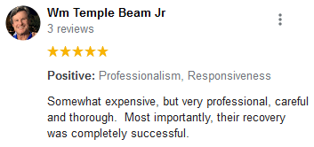 Wm Temple Beam Jr review