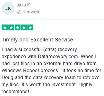 Julia K review