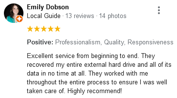 Emily Dobson review