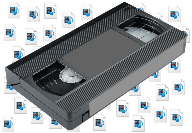 Analog tape to digital video conversion