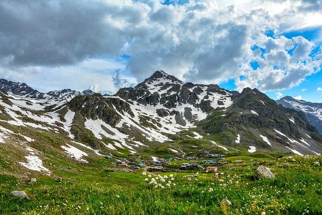 high elevation village