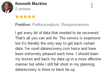 Kenneth Mackins review