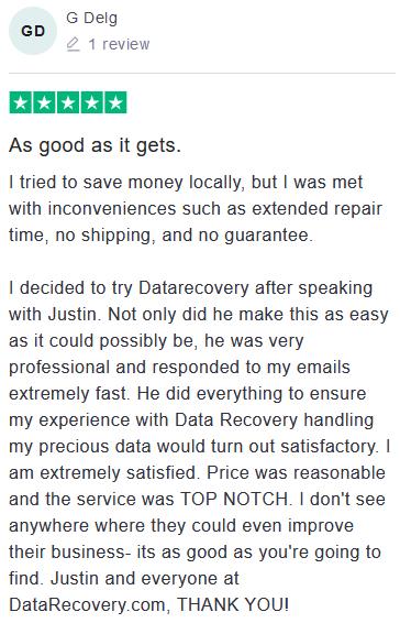 G Delg review