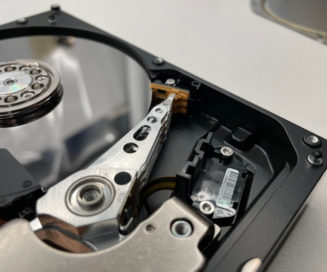 Hard drive actuator assembly and other internals